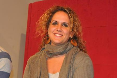 Claudia La Rocca, deputata regionale del Movimento 5 Stelle, durante una conferenza stampa a Palermo, 30 ottobre 2012. ANSA/FRANCO LANNINO