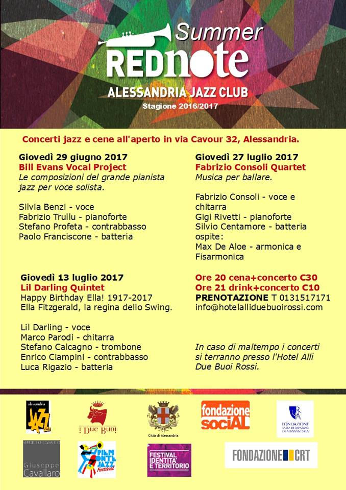 Locandina Summer Red Note 2017